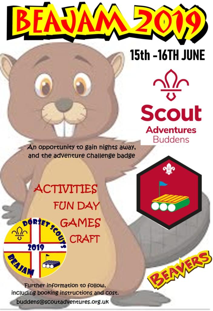 Beajam 2019 | Dorset Scouts