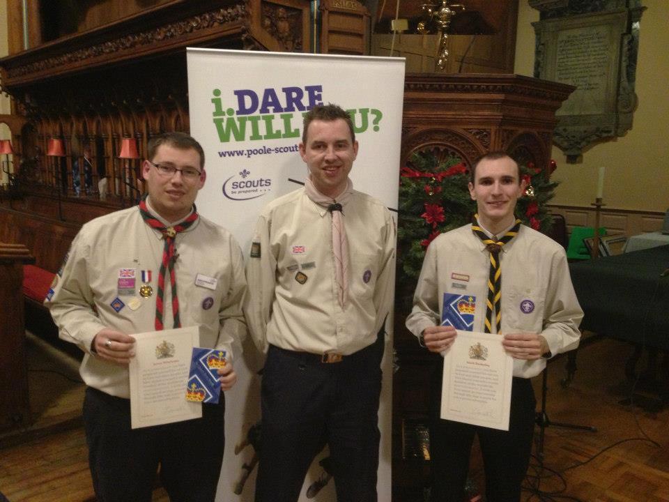 Meet the Dorset Queen's Scouts